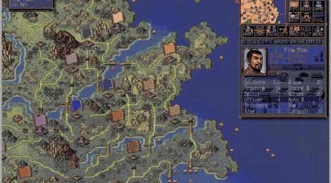Vintage Gaming - Romance of the Three Kingdoms
