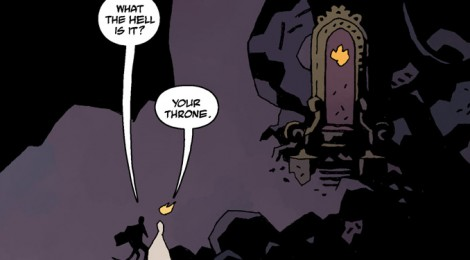 Comic Book Review - Hellboy in Hell, Volume 1: The Descent