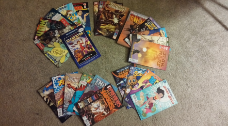 Our Free Comic Book Day 2015 Haul!
