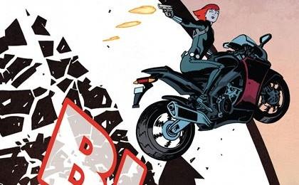 Comic Book Review - Black Widow #1 (2016)