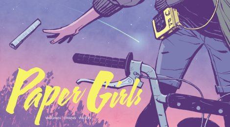 Comic Book Review - Paper Girls Vol. 1