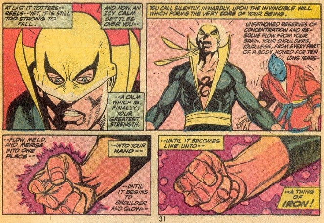 Iron Fist badassery